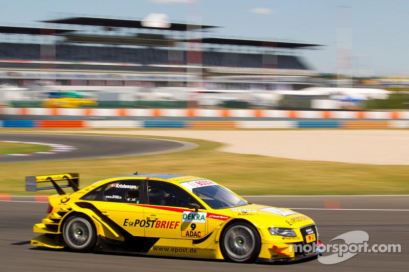Tom Kristensen Audi Sport Team Abt Sportsline Audi A DTM At Lausitz - Tom williams audi