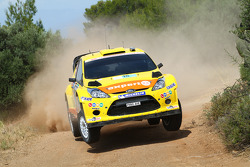 Henning Solberg and Ilka Minor, Ford Fiesta RS WRC ,  M-Sport Stobart Ford World Rally Team