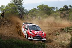 Евгений Новиков и Дмитрий Чумак, FORD FIESTA RS WRC