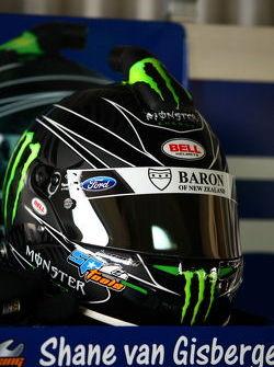 Shane van Gisbergen's helmet