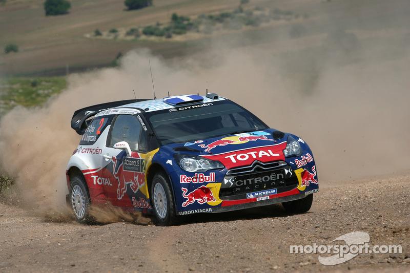 Sebastien Ogier y Julien Ingrassia, Citroen DS3 WRC, Citroen Total World Rally Team