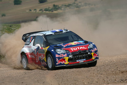 Sebastien Ogier and Julien Ingrassia, Citroen DS3 WRC, Citroen Total World Rally Team