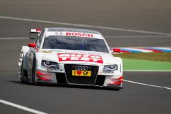 Timo Scheider, Audi Sport Team Abt Sportsline Audi A4 DTM during recon lap