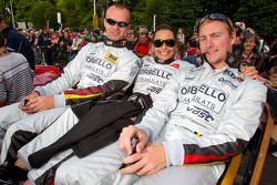 Bas Leinders, Vanina Ickx, Maxime Martin