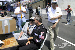 Tom Carnegie and Eddie Cheever Jr.