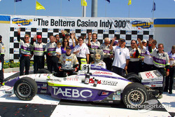 Buddy Lazier and Team Hemelgarn