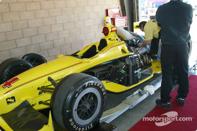 Voiture du Pennzoil Panther Racing