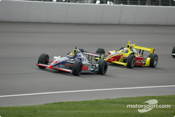 Buddy Lazier and Scott Sharp