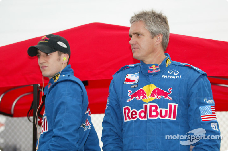 Tomas Scheckter et Eddie Cheever