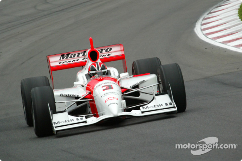 Sunday morning session: Helio Castroneves