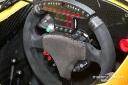Steering wheel of the Dreyer & Reinbold car