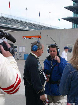 Paul Page and Scott Goodyear