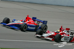 Roger Yasukawa and Dan Wheldon