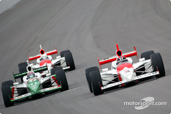 Tony Kanaan and Helio Castroneves