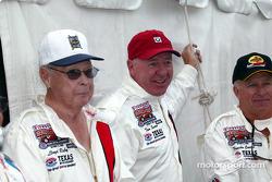 Lloyd Ruby, Tom Sneva and Pancho Carter