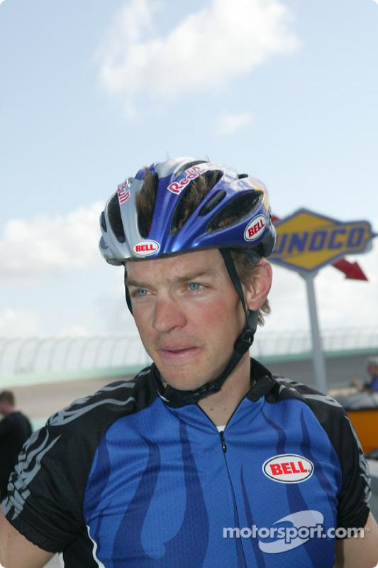 Le double Champion du Monde d'IronMan Tim DeBoon