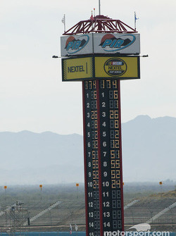 Phoenix International Raceway scoring tower