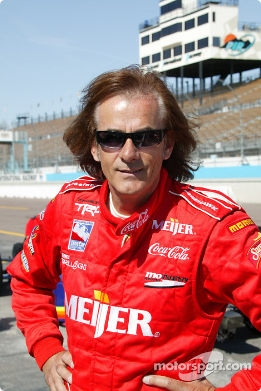 Indy Racing Experience biplace : Arie Luyendyk