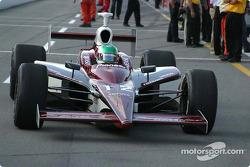 Tora Takagi pulls in after qualifying