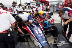 Team Rahal at work