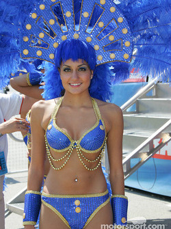 A lovely showgirl
