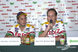 Herdez Bettenhausen Team press conference: Michel Jourdain and Keith Wiggins