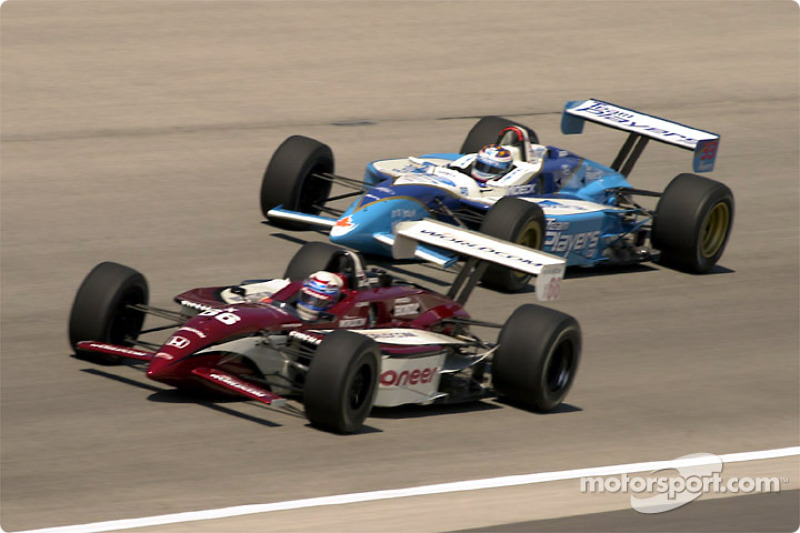Alex Zanardi and Alex Tagliani