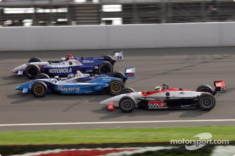 Michael Andretti, Alex Tagliani and Alex Barron