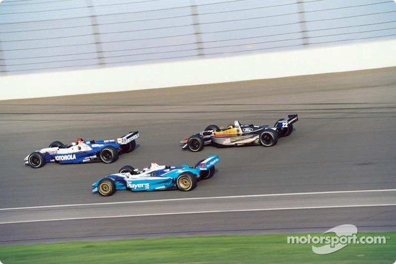 Michael Andretti, Alex Tagliani and Oriol Servia