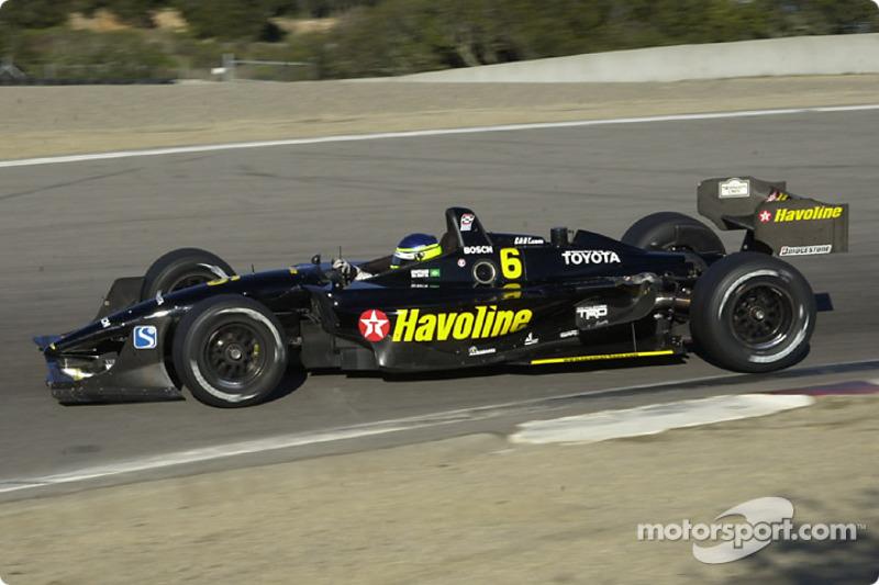 2002 CART: Cristiano da Matta, Newman/Haas Racing, Lola-Toyota