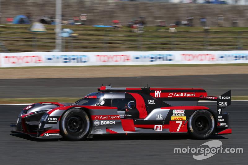 8. LMP1: #7 Audi R18: Marcel Fässler, Andre Lotterer, Benoit Treluyer