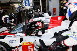#5 Toyota Racing Toyota TS050 Hybrid: Anthony Davidson, Kazuki Nakajima