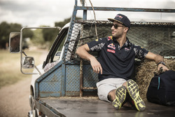 Daniel Ricciardo, Red Bull Racing, auf einer Farm in Austin