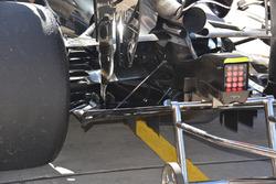Задня частина McLaren MP4-31