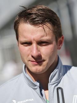 Jordan King, pilote de développement Manor Racing