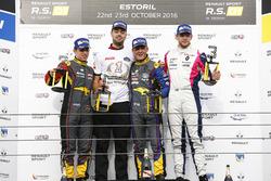 Podium: Sieger: #9 Team Marc VDS, Renault RS01: Fabian Schiller; 2. #15 Team Marc VDS, Renault RS01: Fran Rueda; 3. #3 R-ace GP Racing, Renault RS01: Fredrik Blomsted