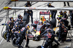 Пит-стоп: Макс Ферстаппен, Red Bull Racing RB12