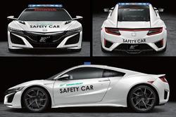 Yeni NSX Güvenlik aracı