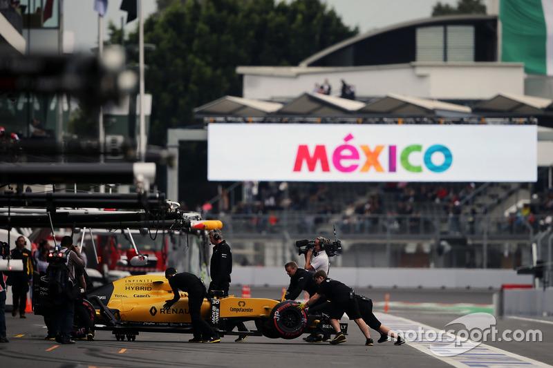 21. Jolyon Palmer, Renault Sport F1 Team RS16