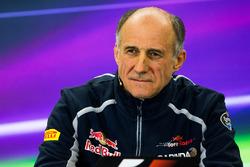 Franz Tost, director del equipo Scuderia Toro Rosso