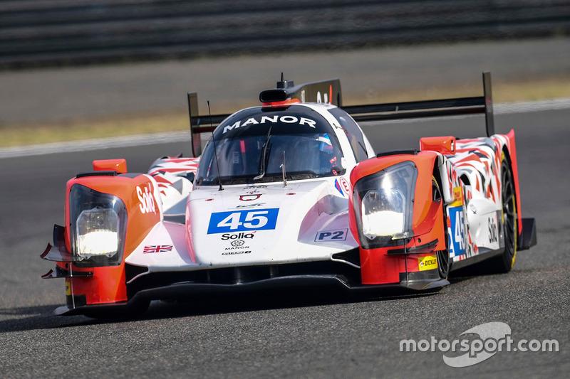#45 Manor Oreca 05 - Nissan: Tor Graves, Roberto Gonzalez, Mathias Beche