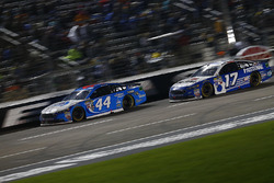 Brian Scott, Richard Petty Motorsports Ford, Ricky Stenhouse Jr., Roush Fenway Racing Ford