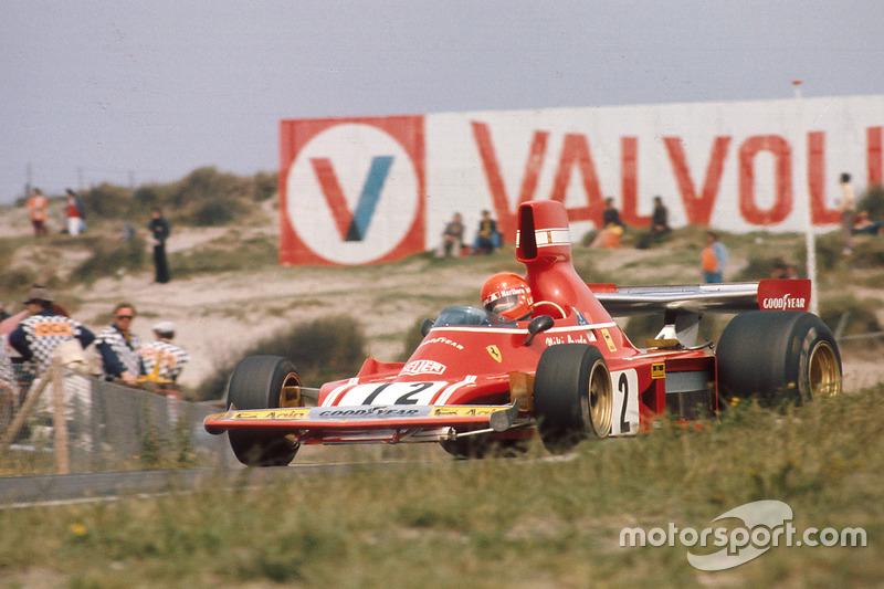 1974-1975: Ferrari 312B3/74 (три победы, 2-е место в КК в 1974-м)