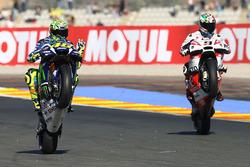 Валентино Россі, Yamaha Factory Racing, Даніло Петруччі, Pramac Racing