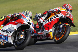 Marc Márquez, Repsol Honda Team, Andrea Iannone, Ducati Team