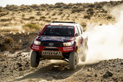 Tests Toyota Gazoo Racing Dakar 2017