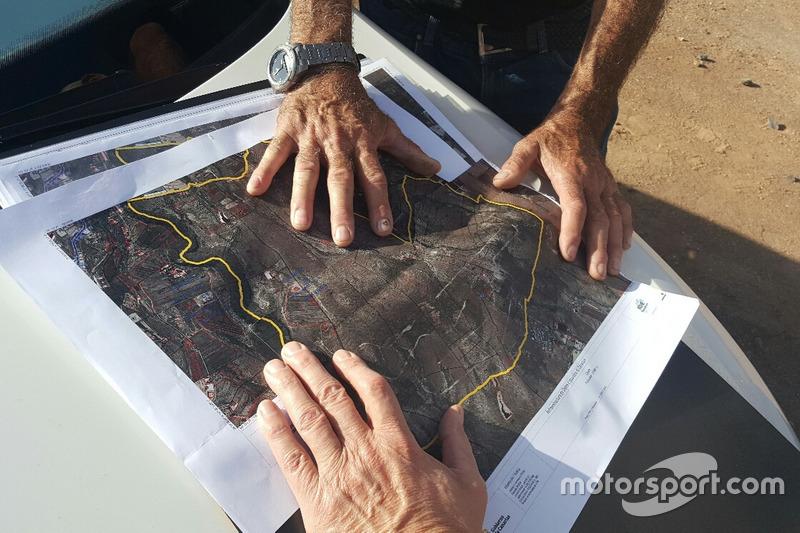 El plano del circuito