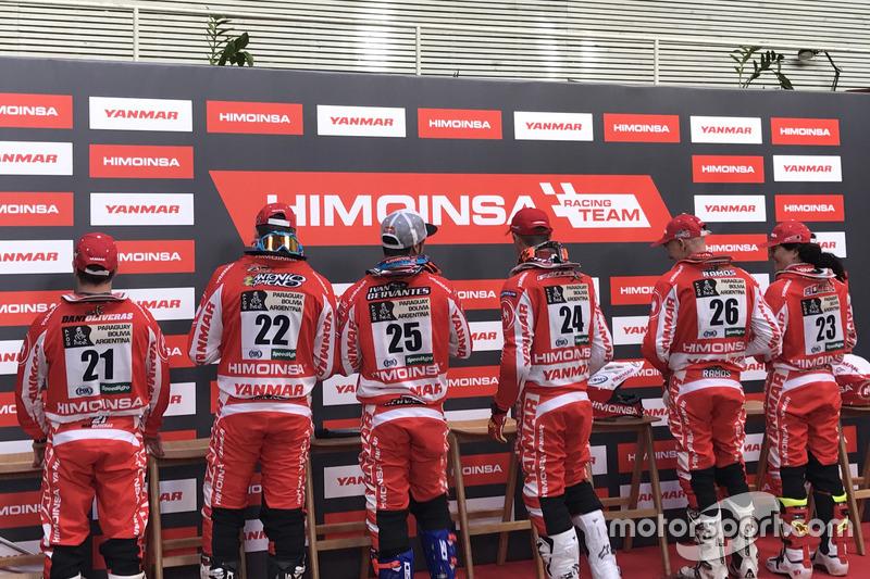 Los seis pilotos del Himoinsa Racing Team 2017