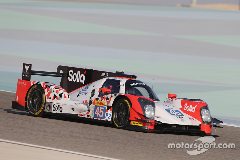 7. LMP2: #45 Manor, Oreca 05 - Nissan: Roberto Merhi, Julien Canal, Roberto Gonzalez