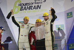 LMGTE Pro Podium: first place #95 Aston Martin Racing Aston Martin Vantage GTE: Marco Sorensen, Nicki Thiim